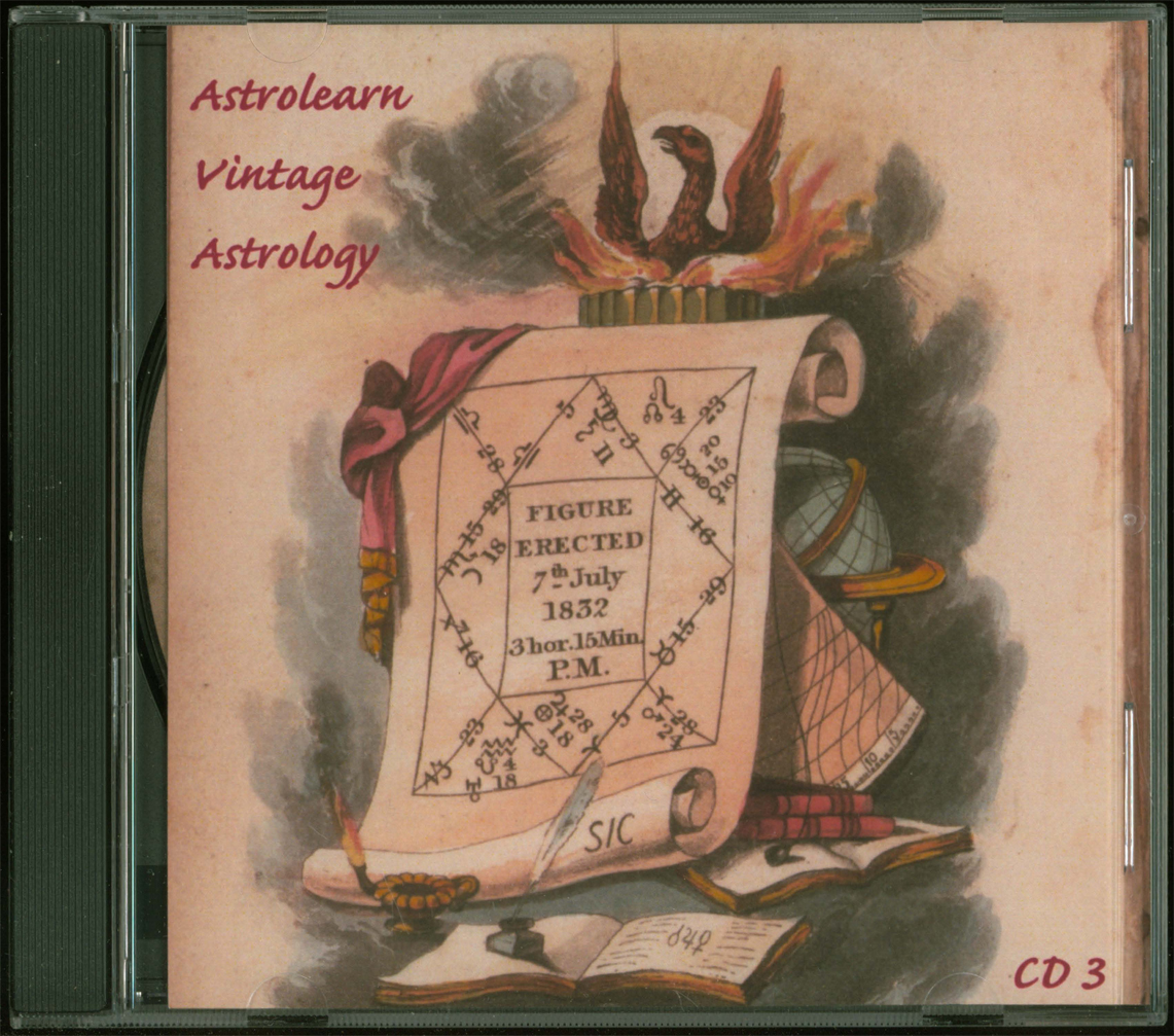 Astrolearn Vintage Astrology CD 3 Front cover