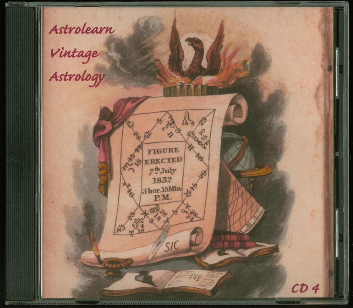 Astrolearn Vintage Astrology CD 4 Front cover