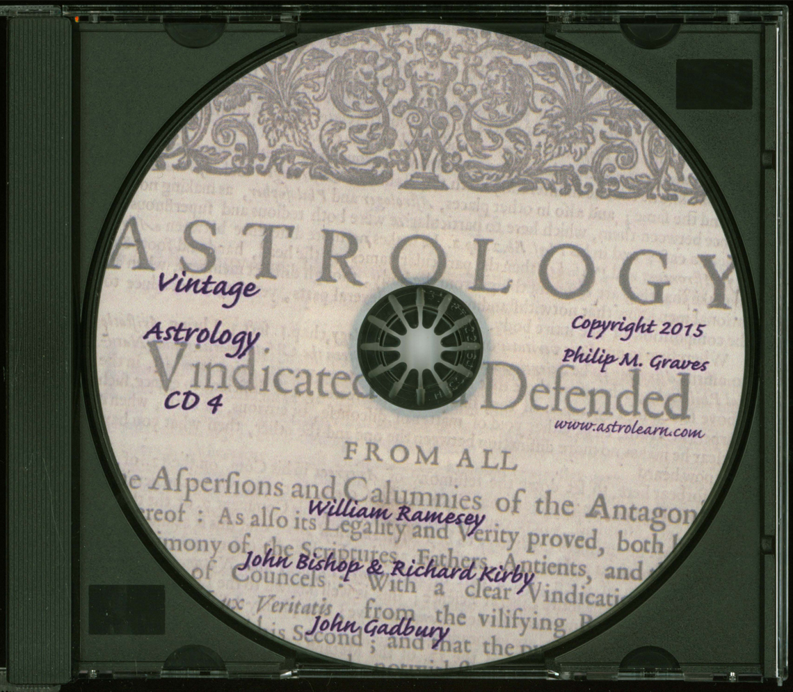 Astrolearn Vintage Astrology CD 4 Disc