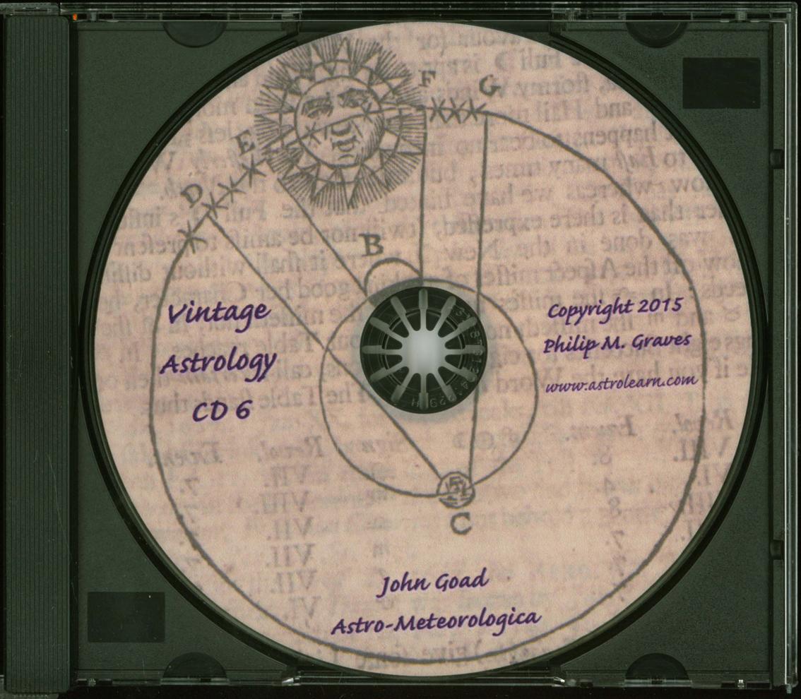 Astrolearn Vintage Astrology CD6, Disc