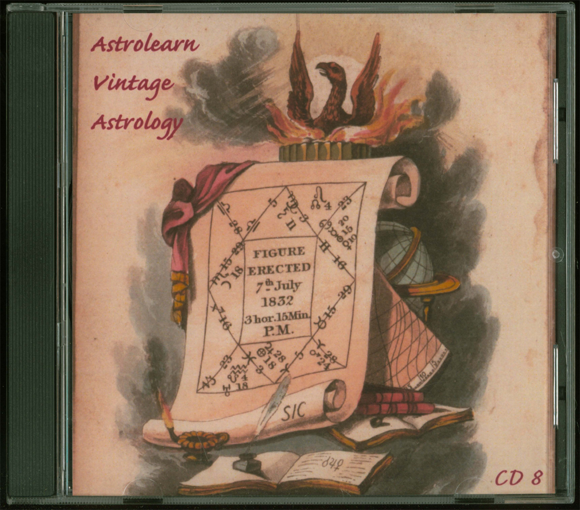 Astrolearn Vintage Astrology CD 8 front cover