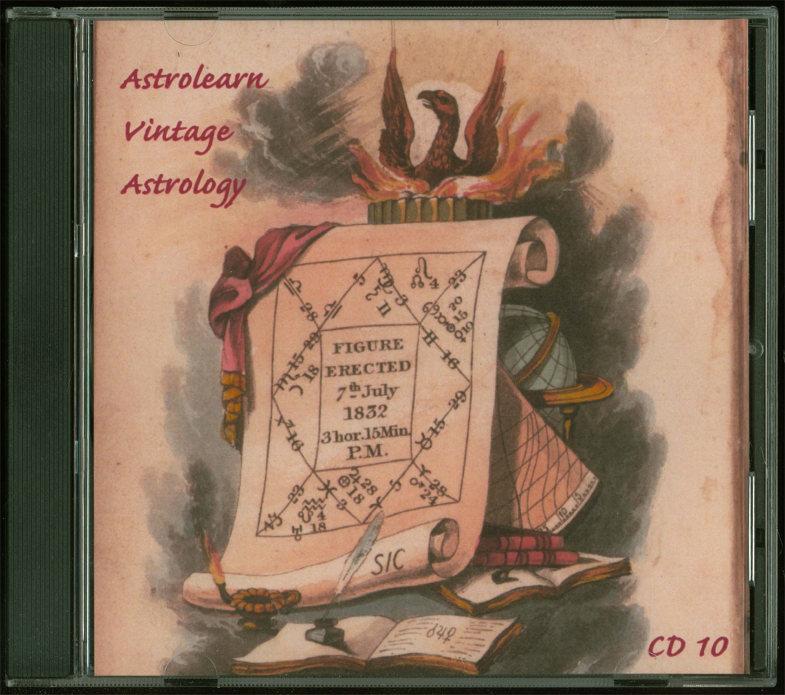 Astrolearn Vintage Astrology CD 10 Front cover