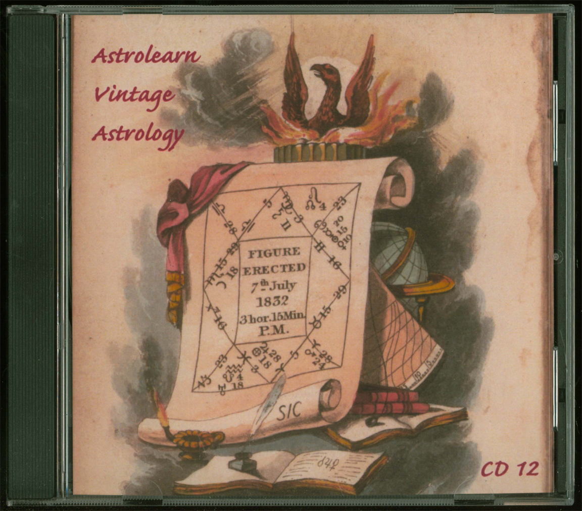 Astrolearn Vintage Astrology CD 12 Front cover