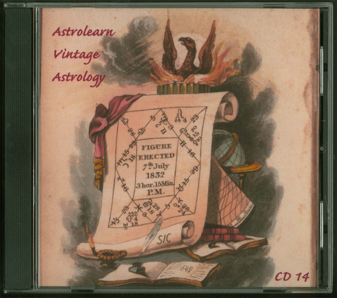 Astrolearn Vintage Astrology CD 14 Front cover