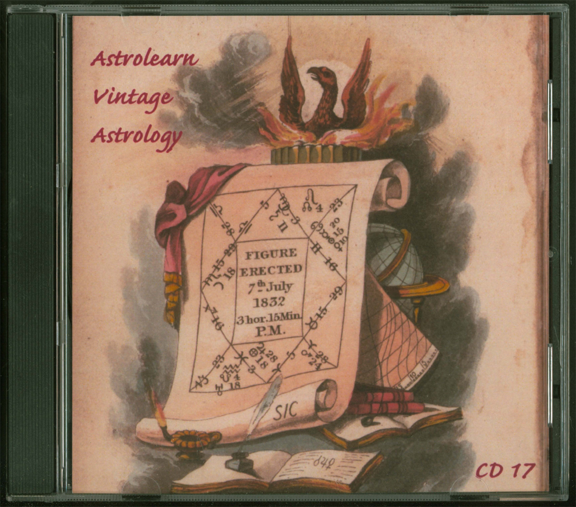 Astrolearn Vintage Astrology CD 17, Front cover