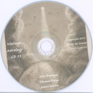Astrolearn Vintage Astrology CD 13