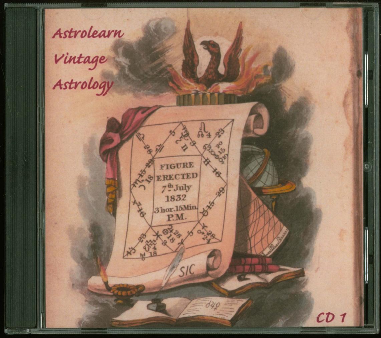 Astrolearn Vintage Astrology CD1