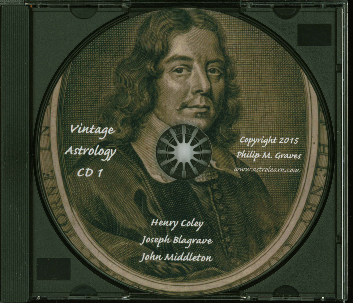 Astrolearn Vintage Astrology CD1, disc