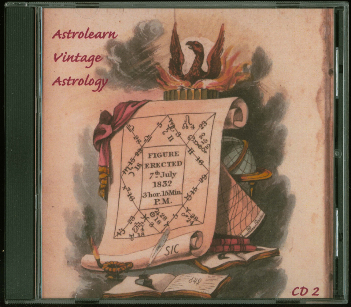 Astrolearn Vintage Astrology CD2: front cover