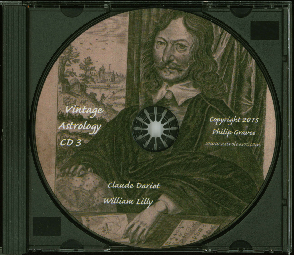 Astrolearn Vintage Astrology CD 3 Disc