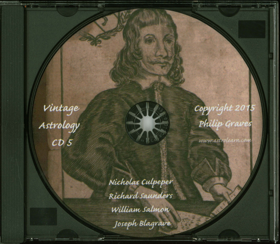 Astrolearn Vintage Astrology CD 5, Disc