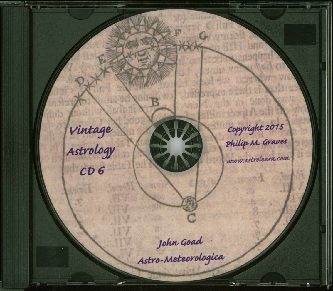 Astrolearn Vintage Astrology CD6, Disc