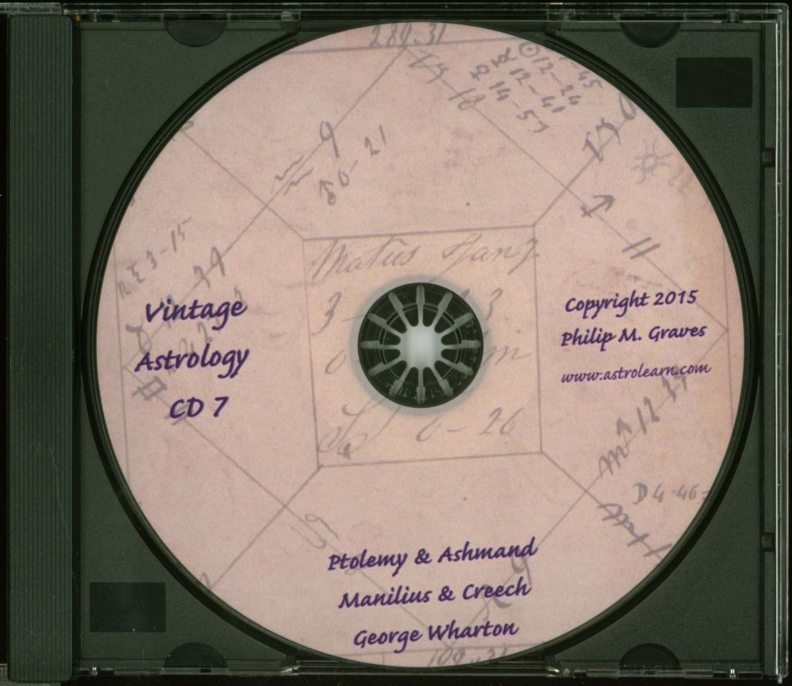 Astrolearn Vintage Astrology CD 7 Disc