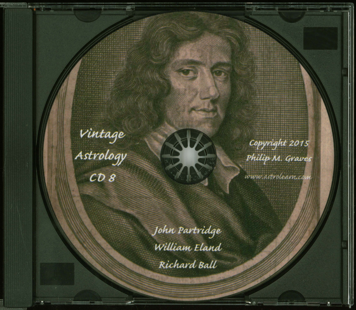 Astrolearn Vintage Astrology CD 8, Disc