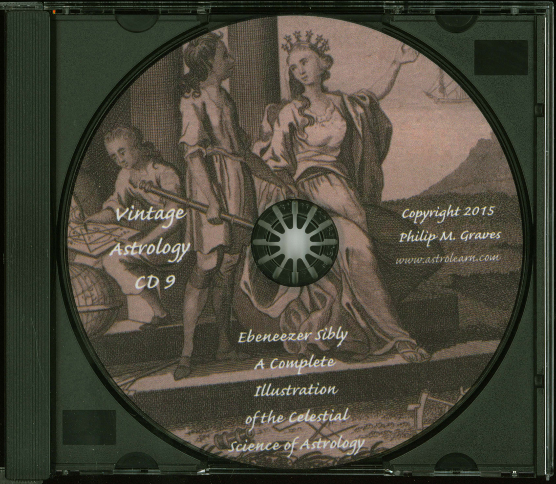 Astrolearn Vintage Astrology CD 9 Disc