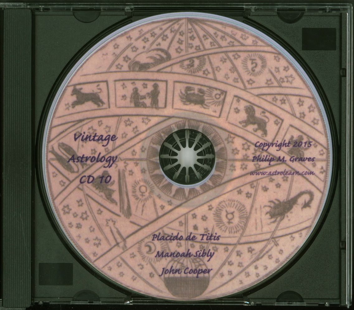 Astrolearn Vintage Astrology CD 10 Disc