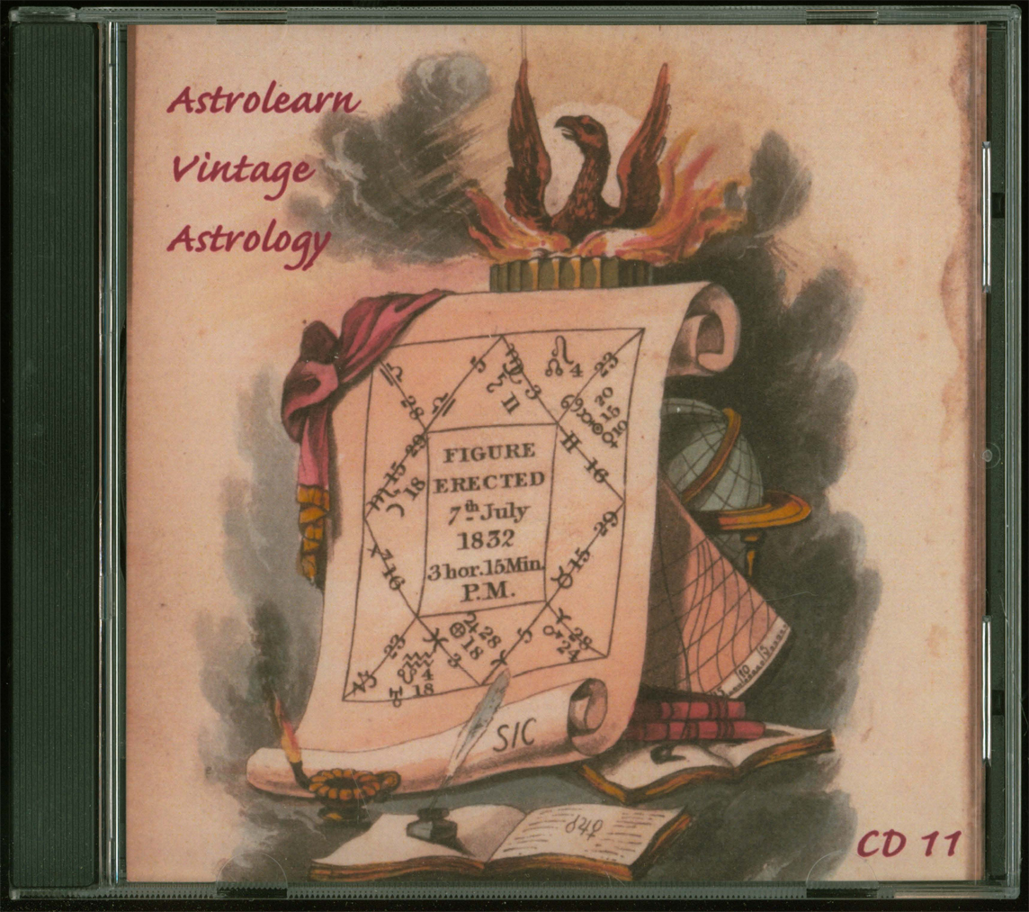 Astrolearn Vintage Astrology CD 11 Front cover