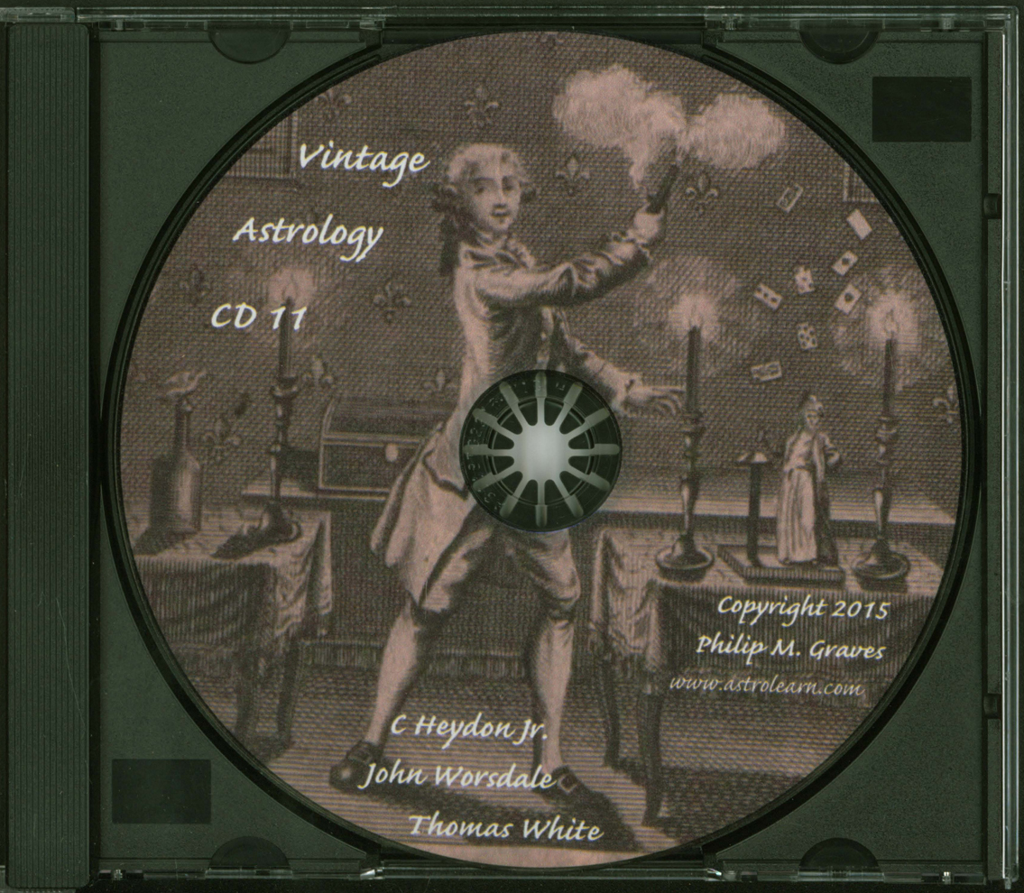 Astrolearn Vintage Astrology CD 11 Disc