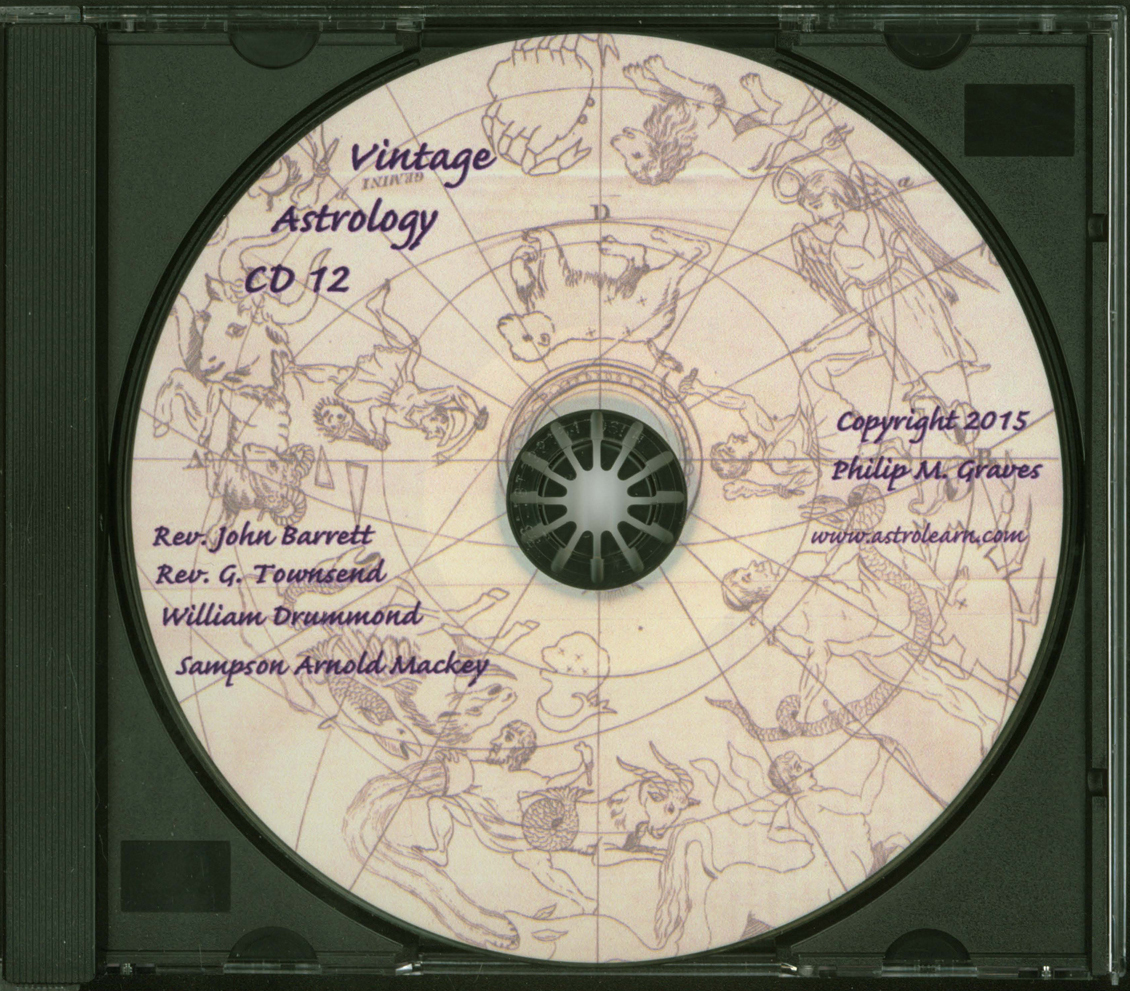 Astrolearn Vintage Astrology CD 12 Disc