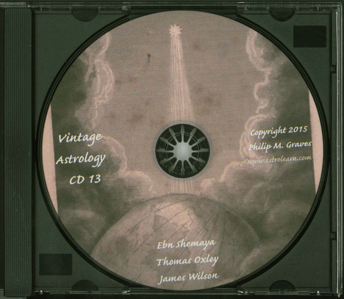 Astrolearn Vintage Astrology CD 13 Disc