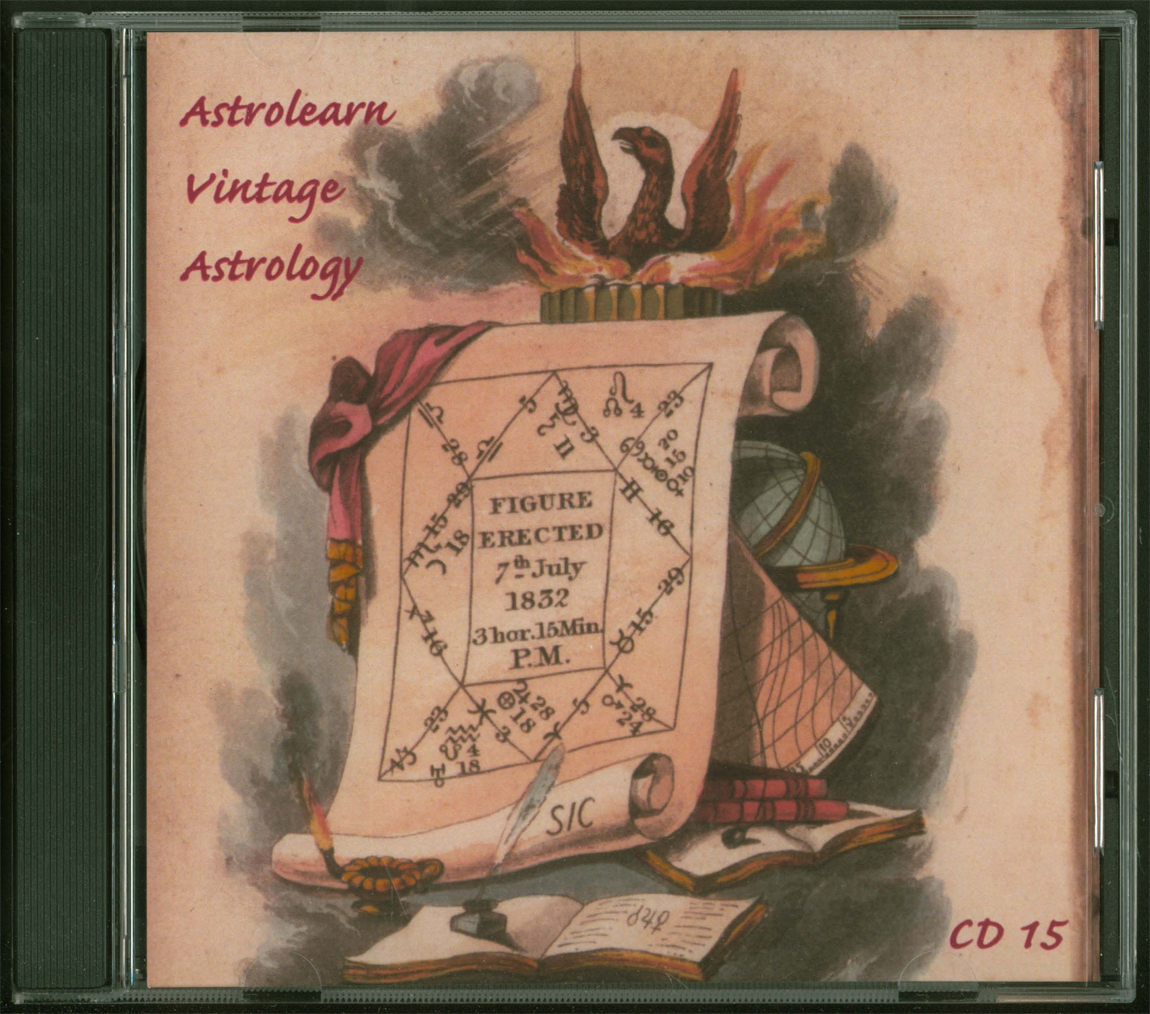 Astrolearn Vintage Astrology CD 15, Front cover