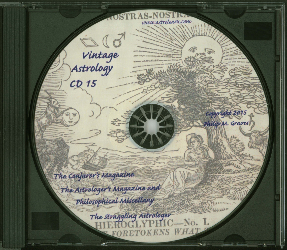 Astrolearn Vintage Astrology CD 15, Disc