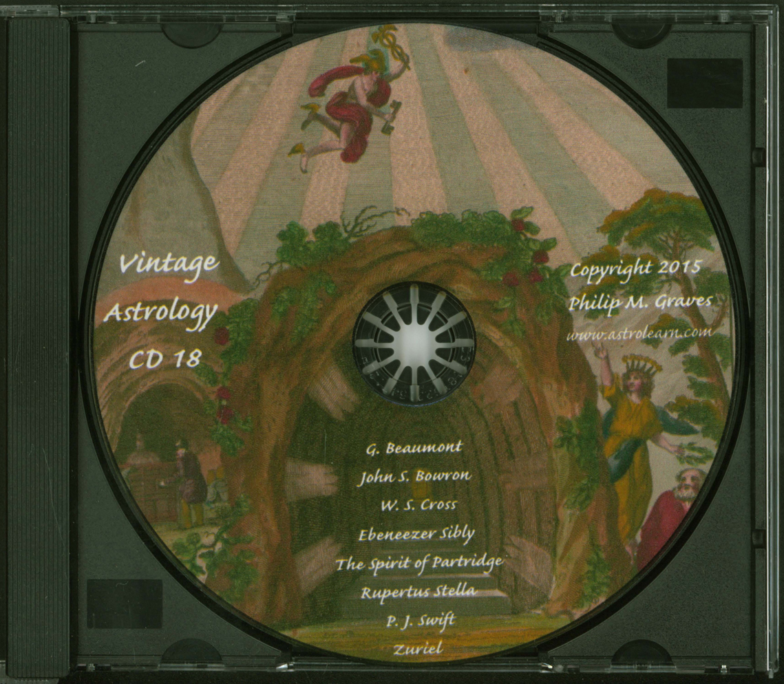 Astrolearn Vintage Astrology CD 18 Disc
