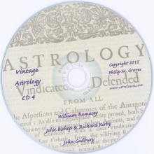 Astrolearn Vintage Astrology CD 4