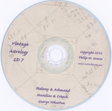 Astrolearn Vintage Astrology CD 7