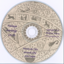 Astrolearn Vintage Astrology CD 10