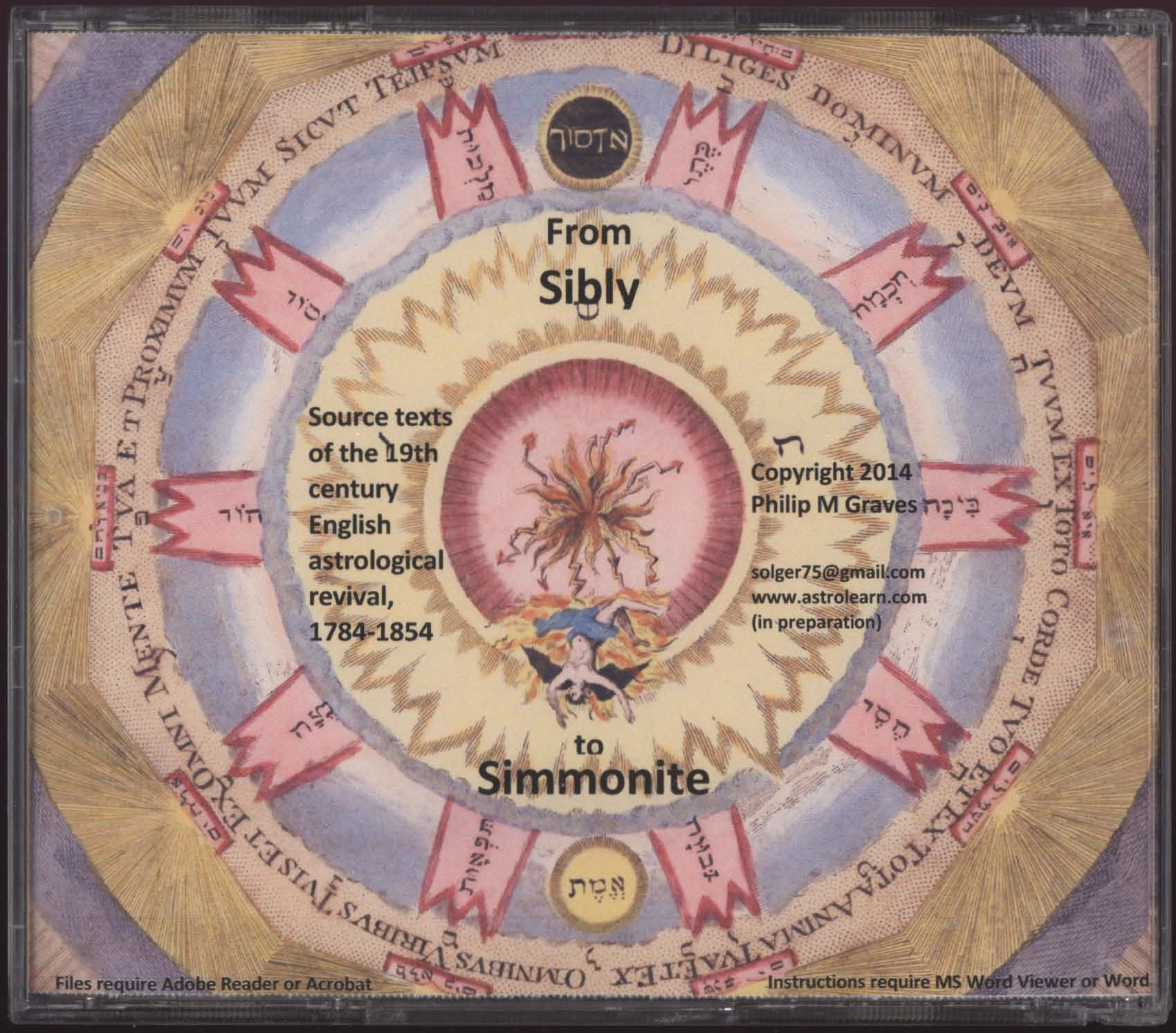 From Sibly to Simmonite: Source-Texts of the 19th Century English Astrological Revival, 1784-1854, Rear Cover